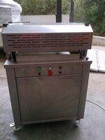 Hydraulic press crostini cutter
